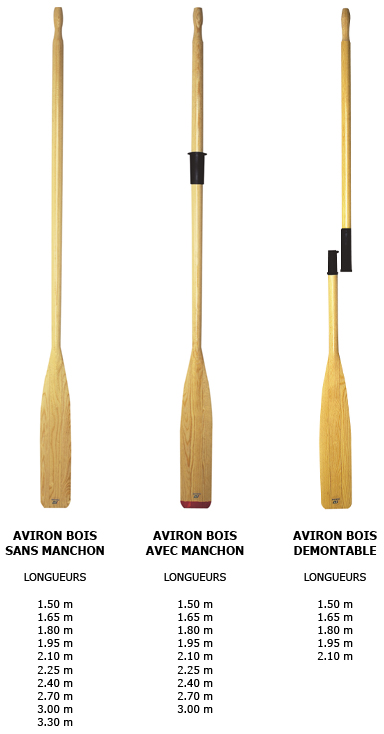 aviron bois plastimo - commpent choisir votre aviron