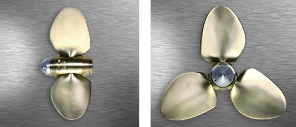 details de l'helice max prop 3 pales easy