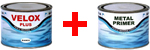 antifouling hélices velox plus et metal primer
