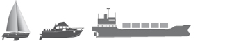 logo vhf voiier + moteur + maxi yacht