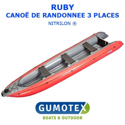 Canoë Gumotex Ruby