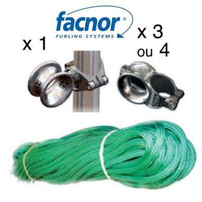 Enrouleur de genois Facnor - Kit drosse + filoirs