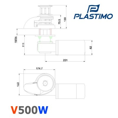 Vertical 500 W