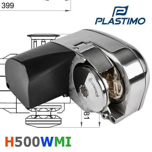 Horizontal 500 W moteur intégré