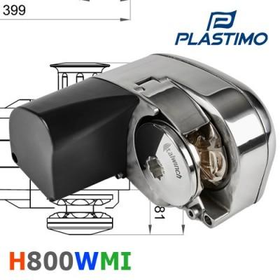 Horizontal 800 W moteur intégré