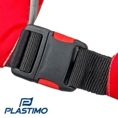 Gilet Plastimo Pilot - Fermeture Modèle Sans Harnais (double poussoir)