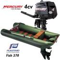 Annexe Plastimo Fish 270 et moteur Mercury 4 cv