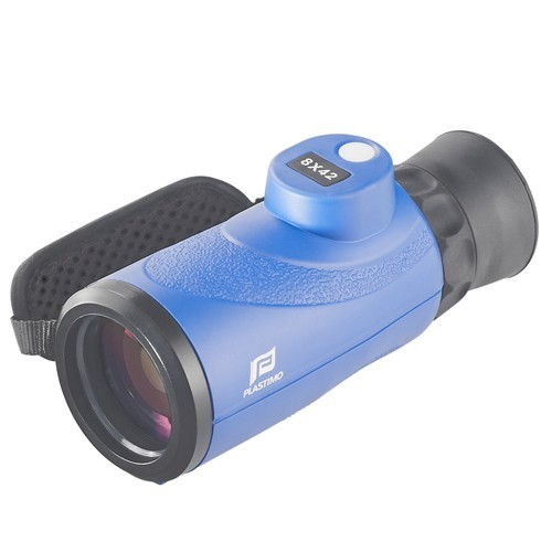 Monoculaire Plastimo 8x42 avec compas numérique intégré