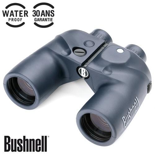 Jumelles marines étanches Bushnell 7x50 avec compas numérique