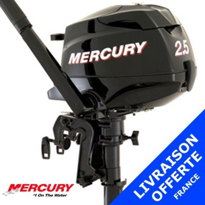 Moteur Mercury hors-bord 2.5 cv 4 temps - promotion 2015