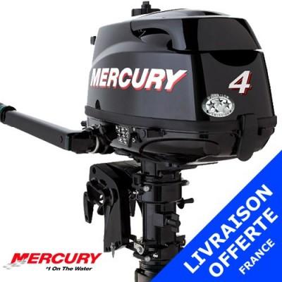 Moteur Mercury hors-bord 4 cv 4 temps - promotion 2015