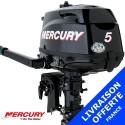 Moteur Mercury hors-bord 5 cv 4 temps - promotion 2015