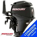 Moteur Mercury hord-bord 8 cv 4 temps - promotion 2015