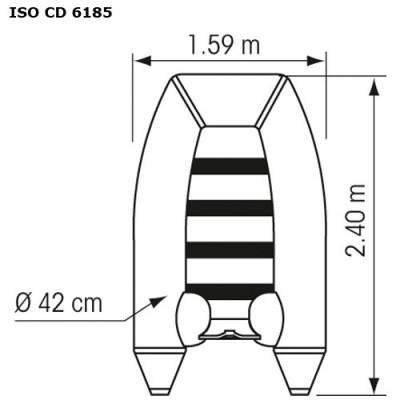 Annexe Plastimo Fish Compacte - Plan