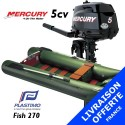 Annexe Plastimo Fish 270 et moteur Mercury 5 cv - Livraison offerte