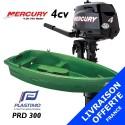 Annexe Plastimo PRD 300 et moteur Mercury 4 cv - Livraison offerte