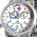 Eric Tabarly chronomètre Regatta - Bracelet acier - Détail 2