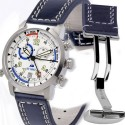 Eric Tabarly chronomètre Regatta - Bracelet cuir