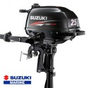 Suzuki hors-bord DF 2.5 cv - vue de trois quart