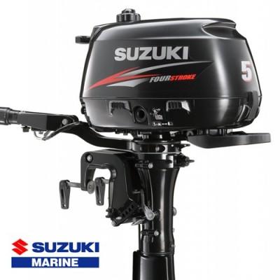 Suzuki hors-bord DF 5 cv - vue de côté