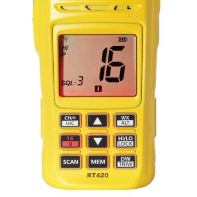 RT 420 VHF Portable Navicom - Facade