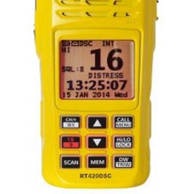 RT 420 DSC VHF Portable Navicom - Facade
