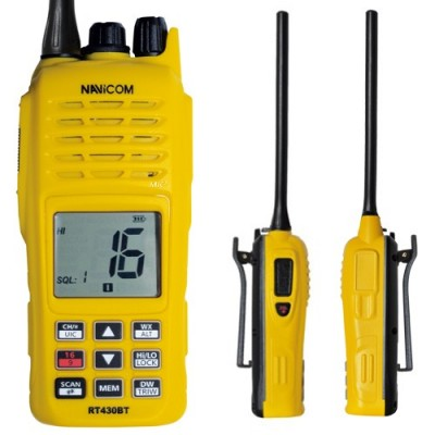 RT 430 BT VHF Portable Navicom