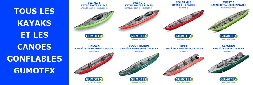 KAYAKS - CANOES