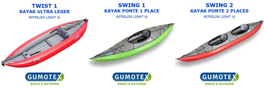 kayak gumotex gonflable