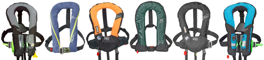 gilets gonflables plastimo - yachtingstock.com