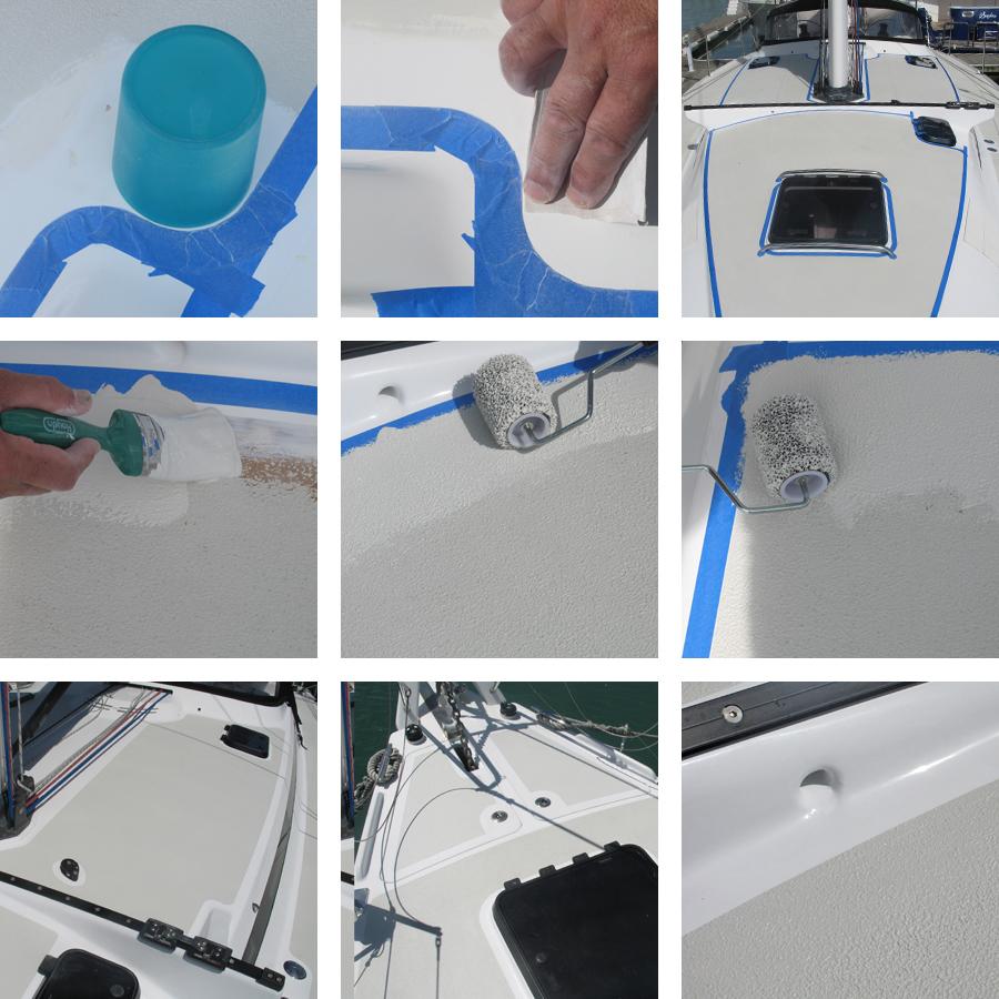 kiwigrip peinture antiderapante mise en oeuvre