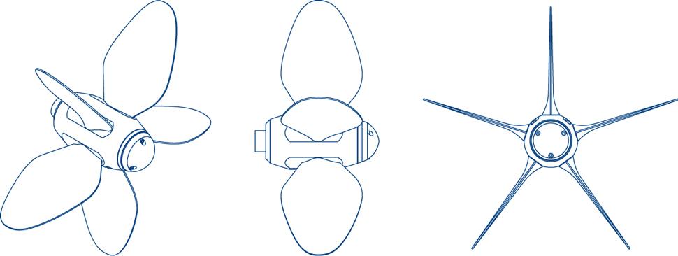 Max Prop hélices - Modèle Whisper - Profils