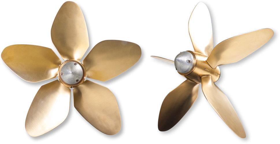 Max Prop hélices - Modèle Boomerang 5 pales