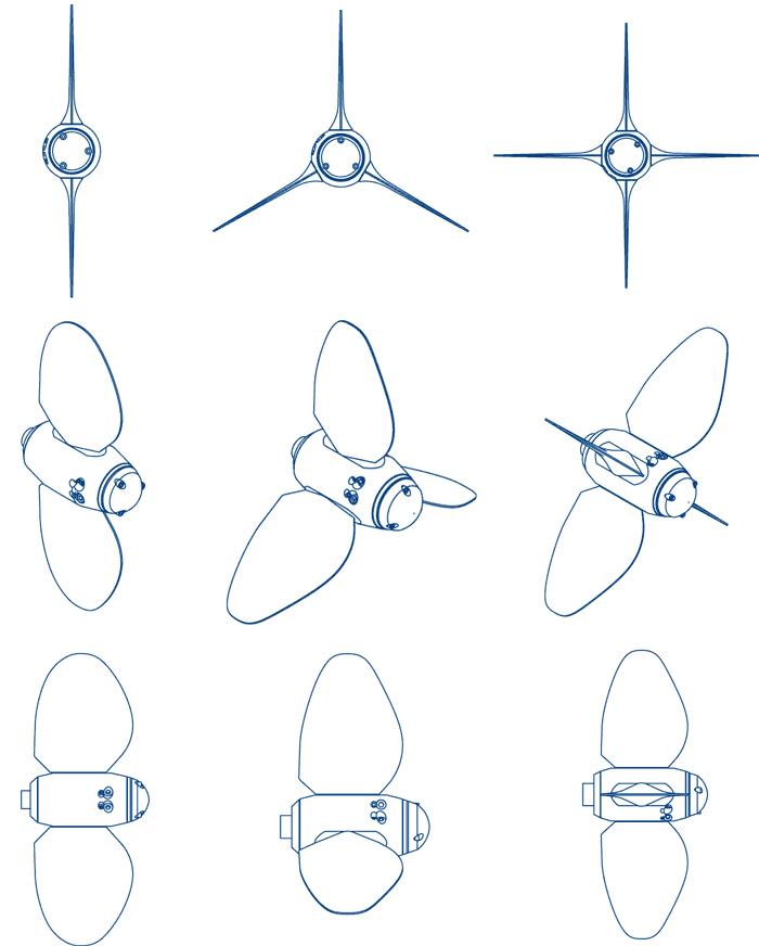 Max Prop hélices - Easy 2, 3 et 4 pales