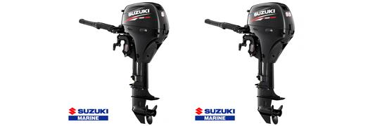 suzuki hors-bord  8 cv - 9.9 A cv gamme portable