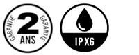garantie navicom rt 411 2 ans - etancheite ipx6