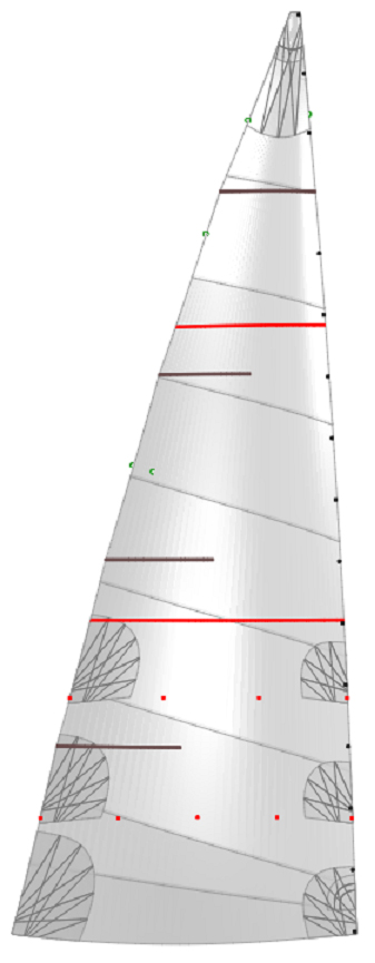 grand voile websails