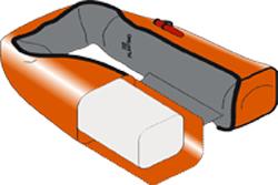 gilet automatique plastimo sl 180 - chambre a air solidaire de la housse